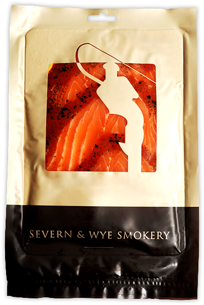 Smoked Salmon with Tomato and Basil -