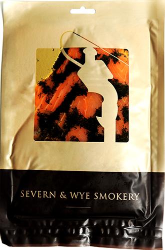 Gravadlax smoked salmon -